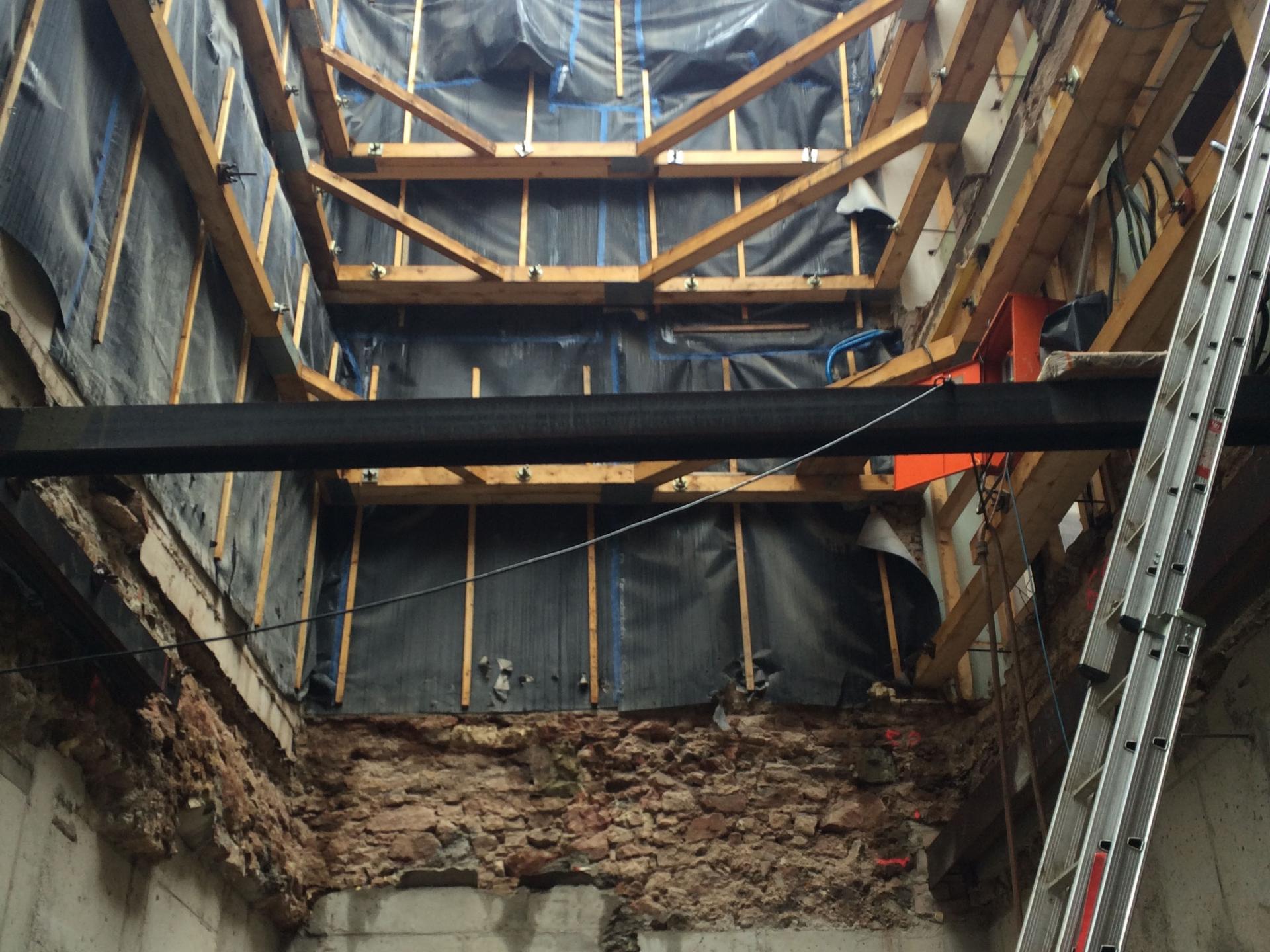Das 'Bauen im Bestand' zur Sanierung bestehender Objekte ist ebenfalls ein wesentlicher Bereich unserer Bautätigkeit